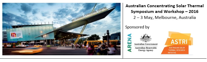 Australian Concentrating Solar Thermal Symposium and Workshop